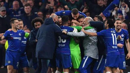 Chelsea venció en penales a Eintracht Frankfurt y clasificó a la final de la Europa League