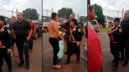 José Luis Chilavert: exarquero de Paraguay protagonizó candente discusión en la calle