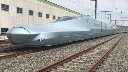 El tren bala evoluciona en Japón alcanzando velocidades máximas de 400 km/h