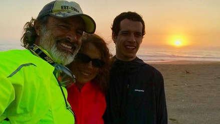 Carlos Alcántara comparte anécdota mientras acampa con su familia