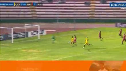 Sandro Rengifo puso el 1-0 en favor de Cantolao ante Universitario