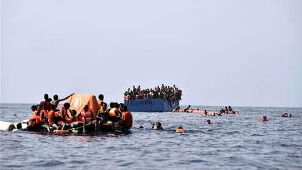 Al menos 70 migrantes desaparecen tras naufragar un bote en el Mediterráneo