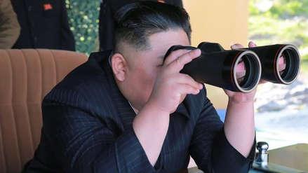 Kim Jong-un supervisó el último lanzamiento de misiles en Corea del Norte