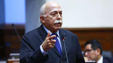Carlos Tubino asegura que en Fuerza Popular no se ha hablado de censurar a la ministra Flor Pablo