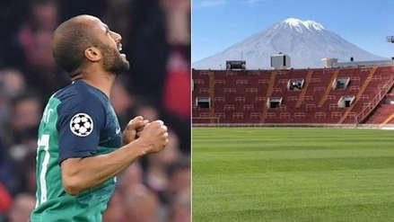 Lucas Moura, héroe de Tottenham, anotó su primer triplete en su carrera en la UNSA de Arequipa