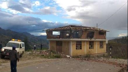 Explosión en almacén de pirotécnicos deja tres heridos graves en distrito de Áncash