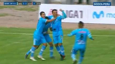 ¡Tremenda tijera! Ángel Pérez anotó el primer gol de Binacional frente a Unión Comercio