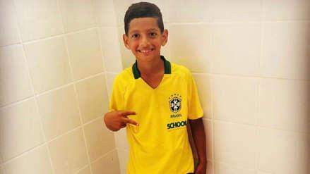 Hijo de Miguel Trauco destaca en Escuela de la Confederación Brasileña de Fútbol