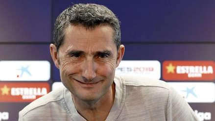 Ernesto Valverde no siente que su puesto en Barcelona esté en riesgo tras eliminación en Champions