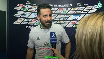 Claudio Pizarro sueña con pase de Werder Bremen a la Europa League