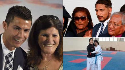 Día de la Madre: las mamás más mediáticas del deporte   FOTOS