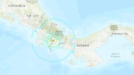 Un fuerte sismo de magnitud 6.0 sacudió la frontera entre Costa Rica y Panamá
