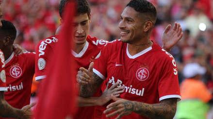Con gol de Paolo Guerrero, Internacional venció a Cruzeiro y sumó su segundo triunfo en el Brasileirao