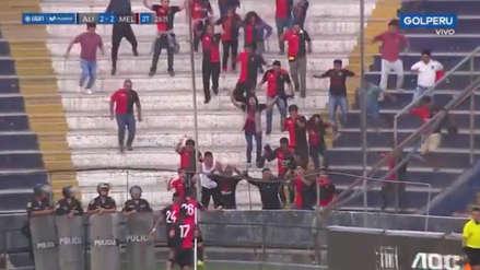 El doblete de Joel Sánchez para el empate de Melgar ante Alianza Lima