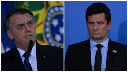 Jair Bolsonaro anunció que postulará al ministro Sergio Moro para la Corte Suprema de Brasil