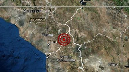 Tacna | Un sismo de magnitud 4.5 sacudió Calana esta tarde