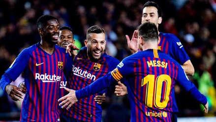 Barcelona derrotó 2-0 al Getafe por la fecha 37 de la Liga Santander