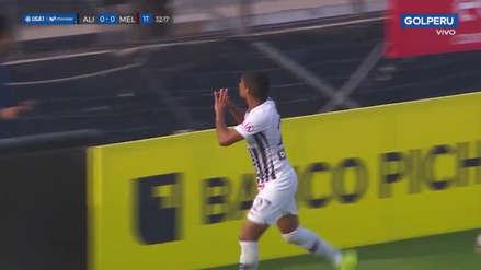 Kevin Quevedo anotó el primer gol de Alianza Lima sobre Melgar en Matute