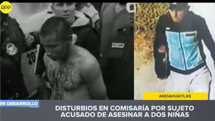 Detienen a hombre acusado de violar y asesinar a dos niñas en Andahuaylas