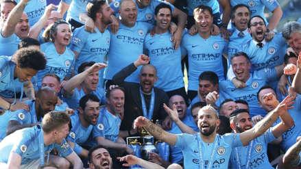Las mejores imágenes de la celebración del Manchester City por su título de Premier League