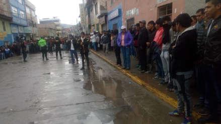 Disturbios en Andahuaylas tras la detención del sujeto que confesó asesinar y violar dos niñas