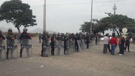 Paro agrario | Dos heridos por enfrentamiento en la Panamericana Norte en Ascope