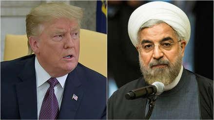 Trump advierte a Irán que