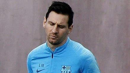 """Barcelona: Lionel Messi """"dolido"""" por los silbidos de los hinchas tras la eliminación en Champions League"""