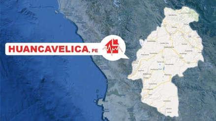 Un sismo de 5.5 de magnitud se registró esta madrugada en Huancavelica