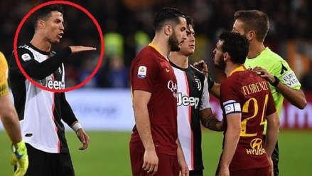 Cristiano Ronaldo se burló de Florenzi por su estatura, pero el italiano luego se cobró su revancha