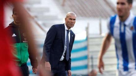 Real Madrid: Zinedine Zidane frustrado tras la derrota ante Real Sociedad