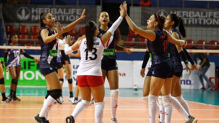 Perú derrotó 3-0 a Honduras en su debut en la Copa Panamericana de Voleibol Sub 20
