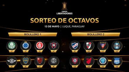Copa Libertadores 2019 EN VIVO: hoy se realiza el sorteo de los octavos de final del torneo