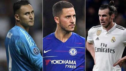 El futuro de Hazard y otros jugadores: así se mueve el mercado de pases en Europa