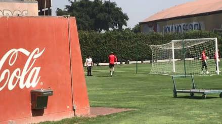 Selección Peruana:  Alberto Rodríguez entrena en la Videna con la Sub 23 ¿llegará a la Copa América?