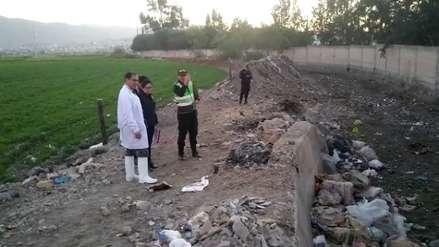 Abandonan el cadáver de un niño en una torrentera de Arequipa