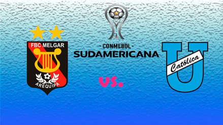 Melgar vs. U. Católica de Ecuador EN VIVO | Fecha, hora y canal del partido por la segunda fase de la Sudamericana