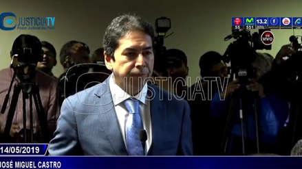 Caso Susana Villarán | Abogado de José Miguel Castro renunció a su defensa