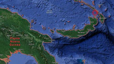 Terremoto de magnitud 7.7 y alerta de tsunami en Papúa Nueva Guinea