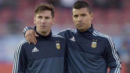 Sergio Agüero aclara dudas sobre Lionel Messi: