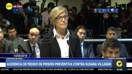"""Susana Villarán ante el juez: """"Jamás eludiré a la justicia porque creo en ella"""""""