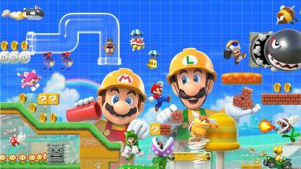 Super Mario Maker 2 tendrá modo historia y un modo cooperativo