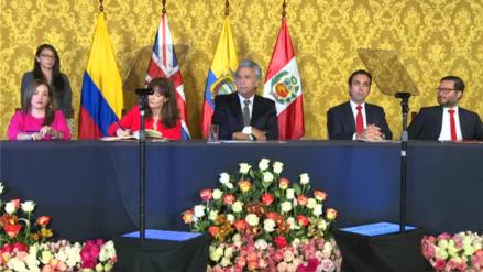 El Perú y el Reino Unido firmaron Acuerdo Comercial para mantener relaciones tras Brexit