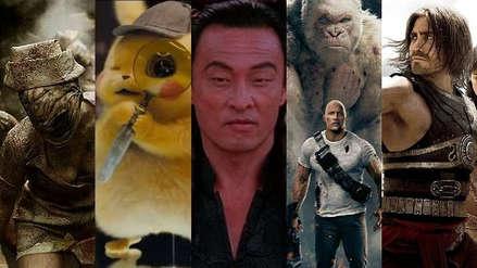 Las cinco mejores películas basadas en videojuegos