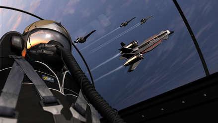 La insólita conversación entre dos pilotos militares que dibujaron un pene en el cielo