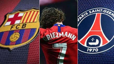 Barcelona no es el único: PSG tiene en la mira a Antoine Griezmann