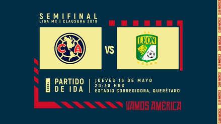 El duelo de semifinal América vs. León se jugará en La Corregidora de Querétaro