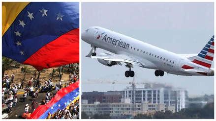 Estados Unidos suspendió todos los vuelos desde y hacia Venezuela