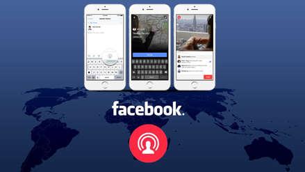 Facebook le pone restricciones al uso de sus transmisiones de video en vivo