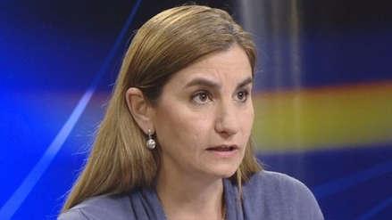 Anel Townsend: No tuve participación en la recaudación de fondos para campaña por el 'No' a la revocatoria